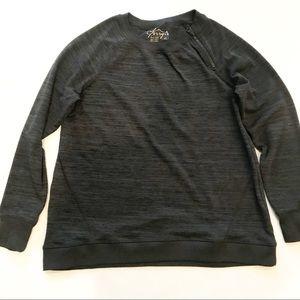 Gerry Charcoal Gray Crew Neck Sweatshirt